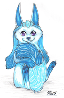 Glaceon by SUNgoddessOKAMI
