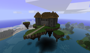 Minecraft: Floating Fortress by CJ64