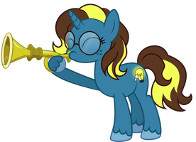 Bright Idea Tooting Her Own Horn by A-Bright-Idea