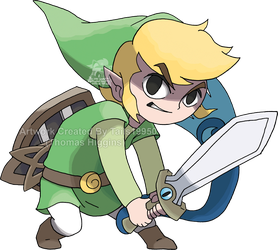 Commisison - Toon Link by Tails19950