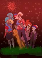 Happy 4th Of July, 2016! by kiichiise-sama