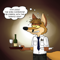 Waiter! by Floyd-Kangaroo