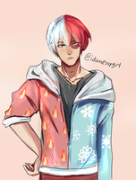 Todoroki Shouto by Idamessygirl