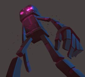 One face a day 109/365. Enderman (minecraft) by Dylean