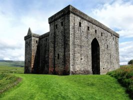 Hermitage Castle by cemacStock
