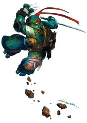 Ninja Turtle in action by redcode77