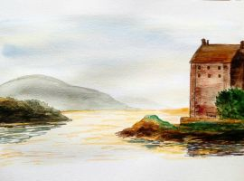 House by the lake by Booksdust