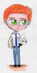 Chibi Galloway by shadow-inferno