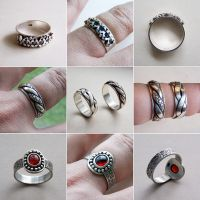 Silver Rings 1 by Astalo