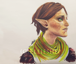 Merrill - marker drawing by ellieshep