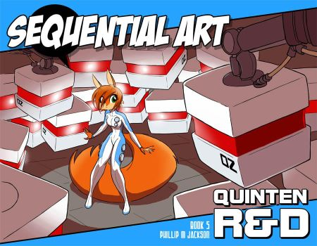 Sequential Art - Vol. 5 - Quinten R+D by jollyjack