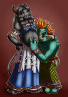 CM - Tzul and Dor by LadyRosse