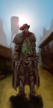 LoL : High Noon Lucian by Sword13