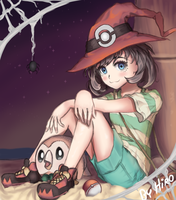 Pokemon: Halloween Moon by HiroSenpaiArt
