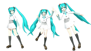 DL PDA Hatsune Miku Shcool by johnjan11