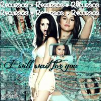 I will wait for you ' recursos by LyCookieMonster