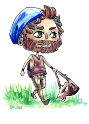 #055 hipster chibi by Orlinee
