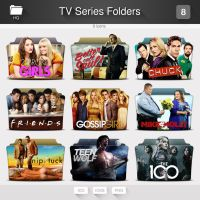 TV Series Folders - PACK 08 by limav