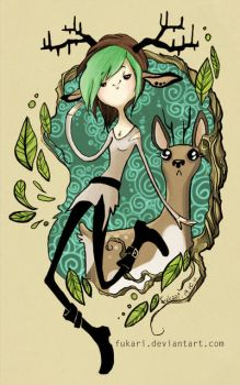 forest witch by Fukari