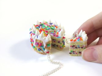 Tutorial: Collab My Favorite Cake Polymer Clay by CandyChick