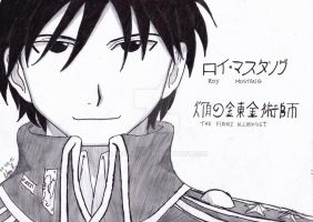 FMA - Roy Mustang by lina-costa