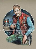 Guardians Of The Galaxy - Star Lord (2014) by scotty309