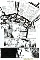 TEEN TITANS #90 Pg 3 - CASSIE + RAVEN Featured by DRHazlewood