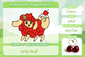 Cherry registration sheet by Adallie