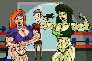 Kim and Shego with Ron  By Ritualist color v2 by acidrain101