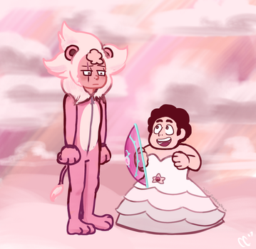 Steven's Other Lion by coobcakes