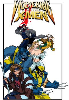 Wolverine and the X-Men Group Tee 2015 by LucasAckerman