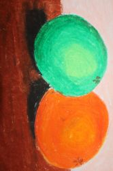 Orange and Lime by kahlil-ARTist