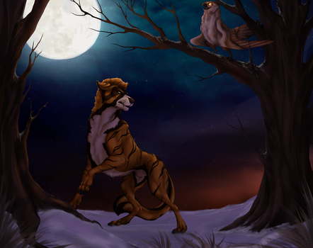 Moonshine - Commission for bobbycorwin by BrittanyWillows