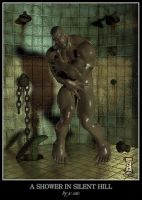 A Shower in Silent Hill by HellboySoto