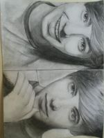 Nathan Sykes Drawing by piet-spruit