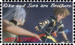 Brothers, Not Lovers: Riku and Sora. by WOLFBLADE111