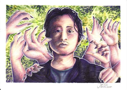 Glenn Rhee | The Walking Dead by J-Ssi