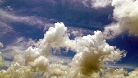 Clouds 01a by jerinian