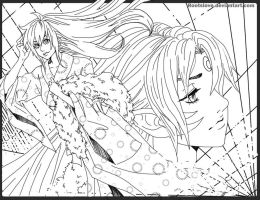 SessKag lineart 4 by Roots-Love