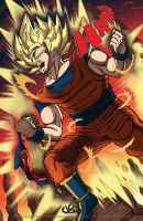 Goku FTW by thelearningcurv