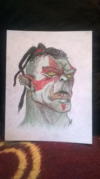 Orc by Wlayko111