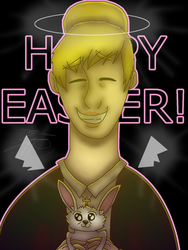 Happy Easter! by Wolfkid9963