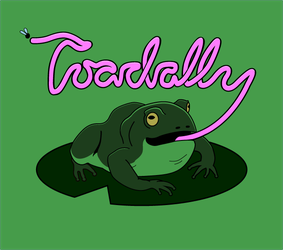 Toadally Punny! by hmaxkay