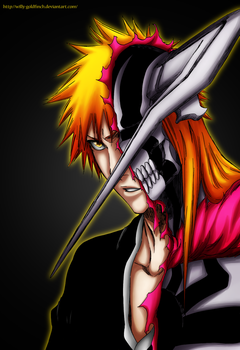 Kurosaki Ichigo_1 by willy-goldfinch