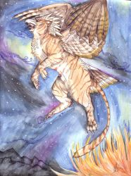 Parsa: Night Chaser by SophieDragon