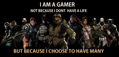 Ode To Gamers by CpCody