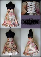 High Waisted Lolita Skirt by MissChubi