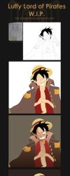 Luffy : WIP Details by MastaHicks