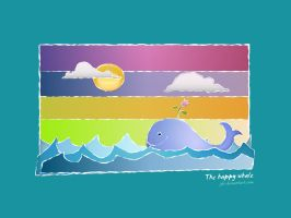 the happy whale by JDe