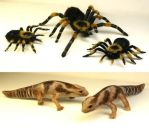 Taranchula and Gecko puppets by TimBakerFX